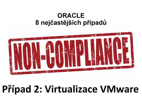 Licencování Oracle a různé verze VMware